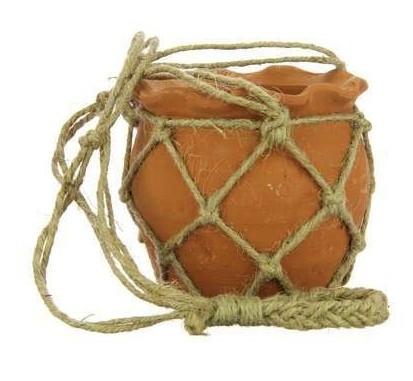 Terracotta hangpot Clay