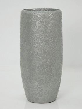 Vaas Callisto rond structuur hoogte 114 cm in twee kleuren