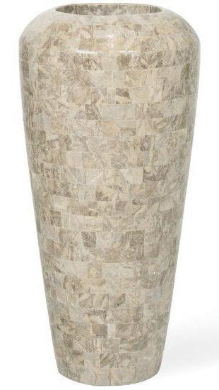 Vaas Geo cappuccino marble