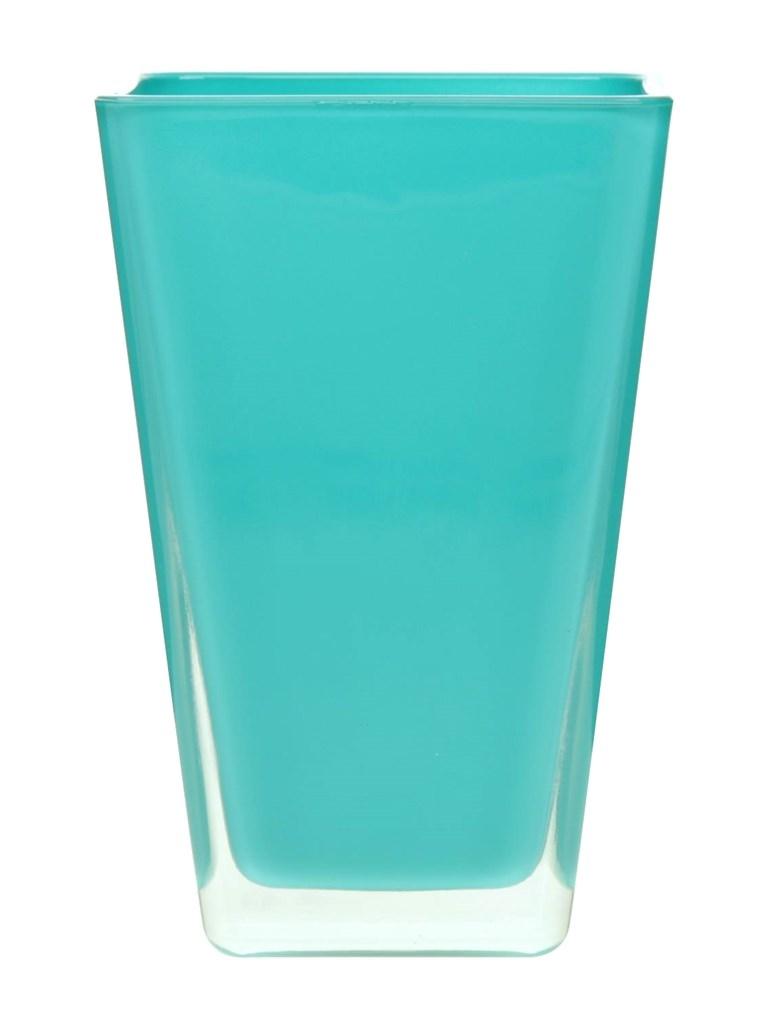 Vaas Oregon van gekleurd glas heavy glas emerald
