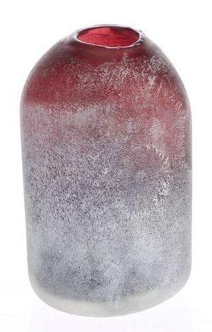 Vaas Sercus ovaal kalk aubergine
