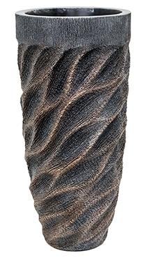 Vaas Universe Wave bronze 70 cm Luxe Lite