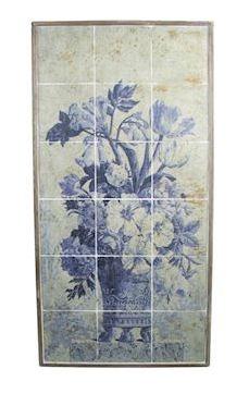 Wanddecoratie Danizy blauw MAR10
