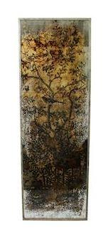 Wanddecoratie Deauville goud hout MAR10