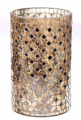 Waxinelichthouder Fercé goud groot