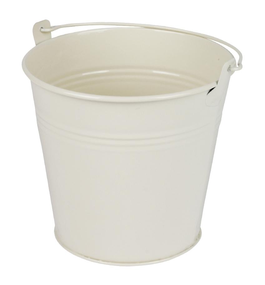 Zinken emmer crème glans Ø 13 cm