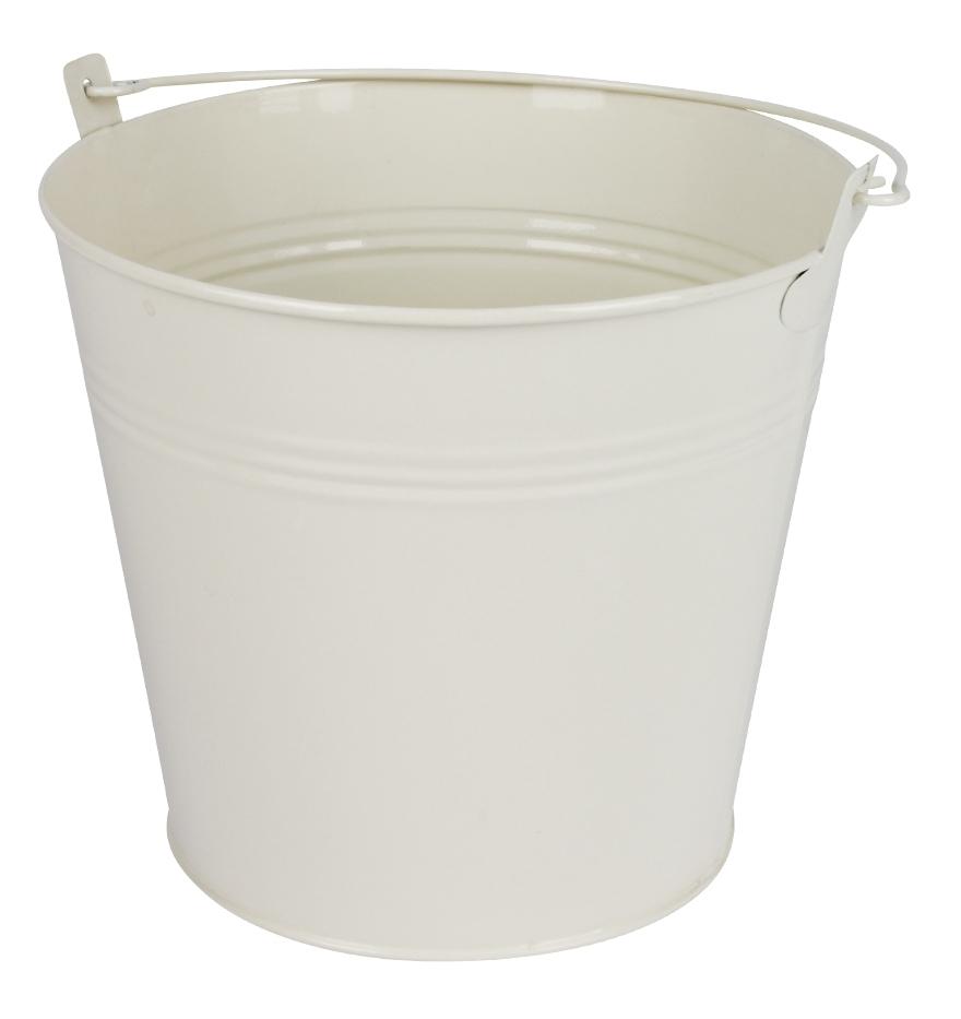 Zinken emmer crème glans Ø 17,8 cm