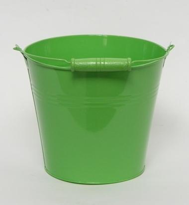 Zinken emmer in meerdere kleuren Ø 13 cm