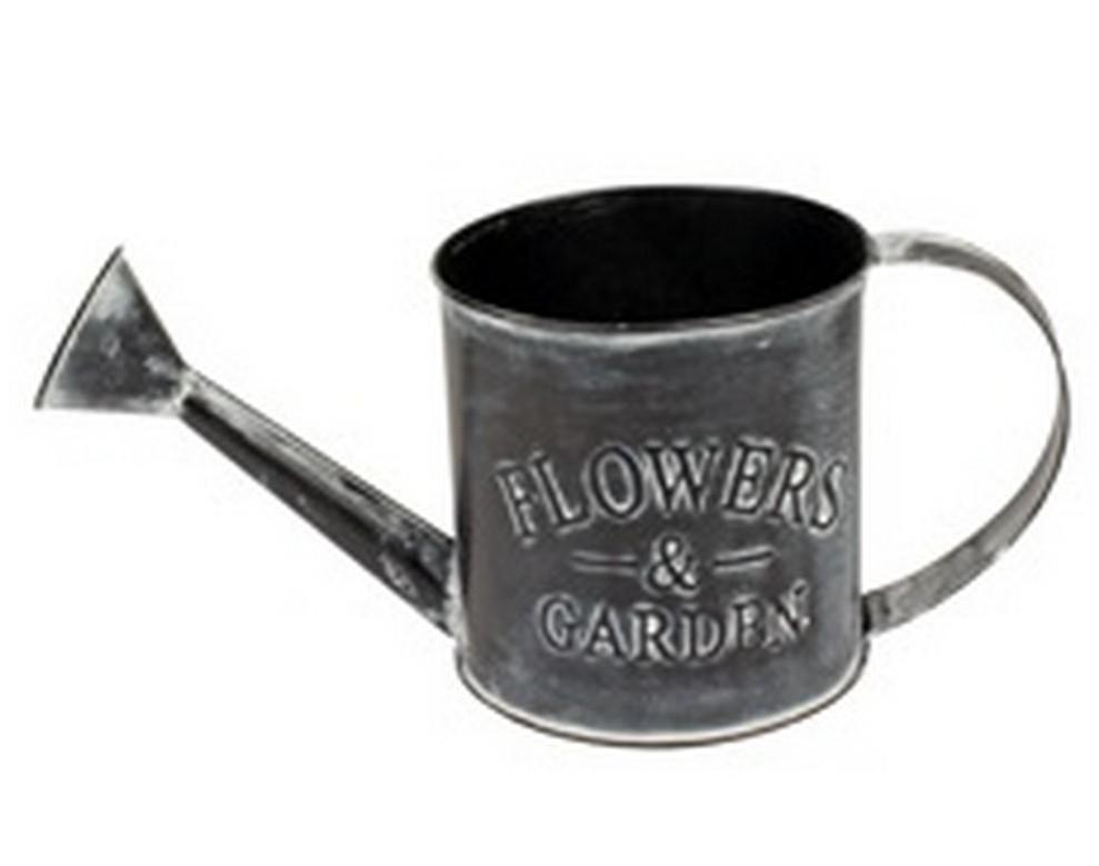 Zinken gieter Flowers and Garden antiek